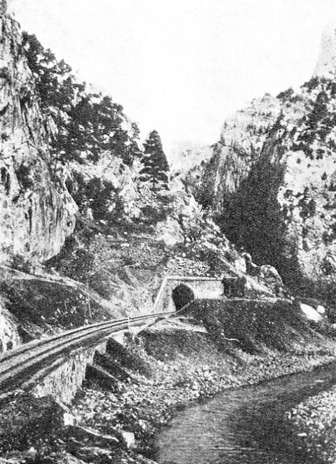 A TUNNEL MOUTH IN THE TAURUS MOUNTAINS