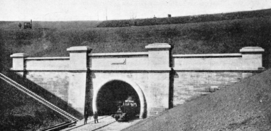 The English entrance to the Severn Tunnel