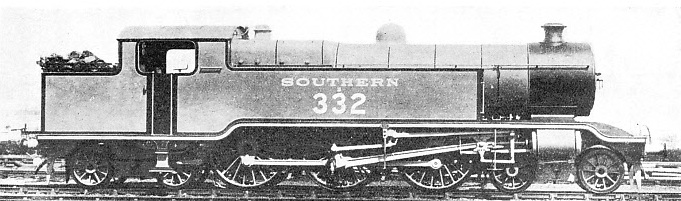 """BALTIC"" TYPE LOCOMOTIVE formerly used on the Central Section of the Southern Railway"