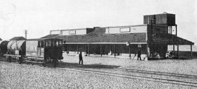 Mazar Station, on the Kantara Rafa Railway