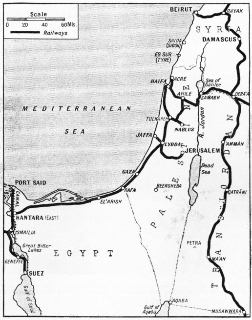 The railways of Palestine and Transjordan