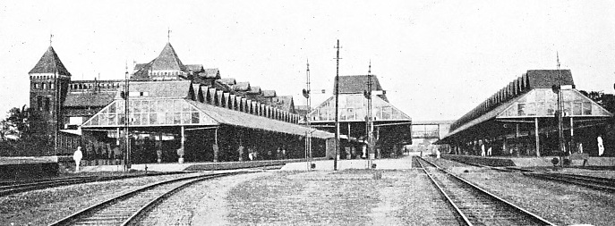 THE MAIN STATION AT RANGOON, Phayre Street