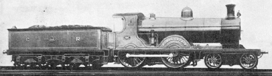 """Dunalastair"" 4-4-0 of the Caledonian Railway"