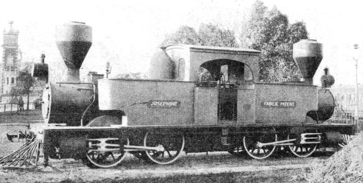 A Fairlie articulated engine used on the New Zealand Government Railways