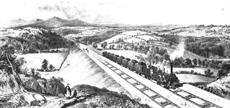 The Lickey Incline in Former Days