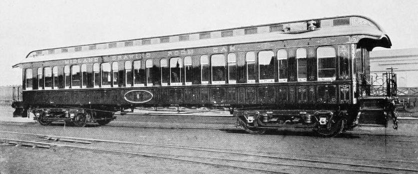 AMERICAN TYPE OF PULLMAN CAR WHICH WAS INTRODUCED UPON THE MIDLAND RAILWAY