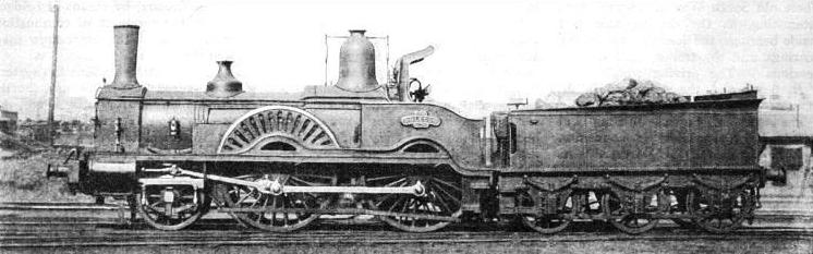 """Phlegon"", a 2-4-0 locomotive designed by Joseph Beattie"