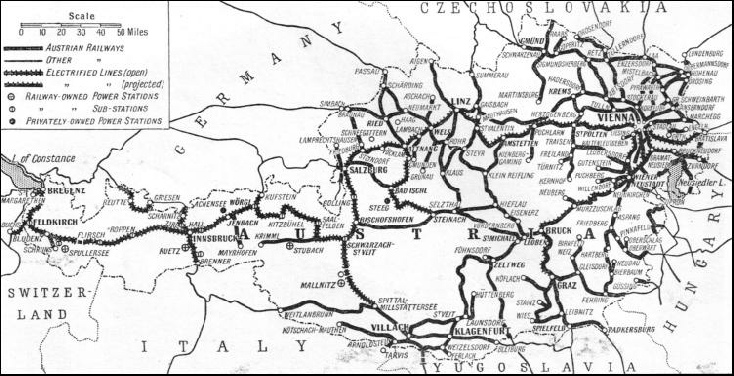 The railways of Austria