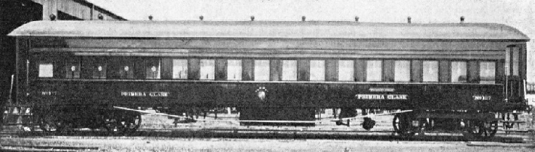 A Carriage of the Central Uruguay Railway