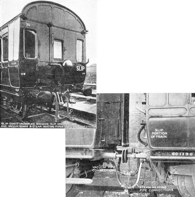 Slip coaches