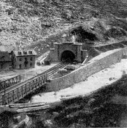 The Northern Portal of the St. Gotthard Tunnel